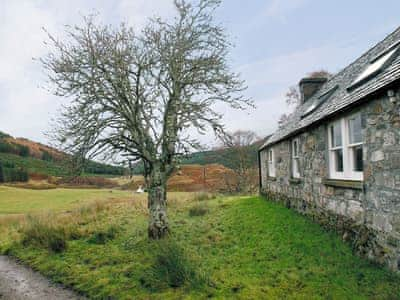 Glacour Studio Cottage, Strathconon estate