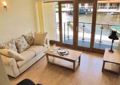 Nine Swan House sitting room