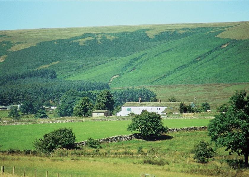 The setting of Laytham's Farm | Laytham?s Farmhouse, Nr. Slaidburn, Ribble Valley
