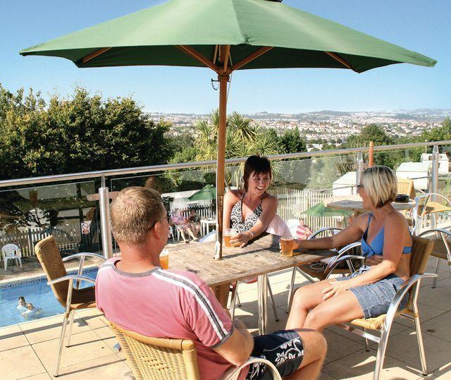 Bar/restaurant outdoor terrace