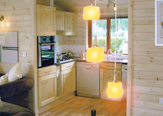 Typical lodge interior