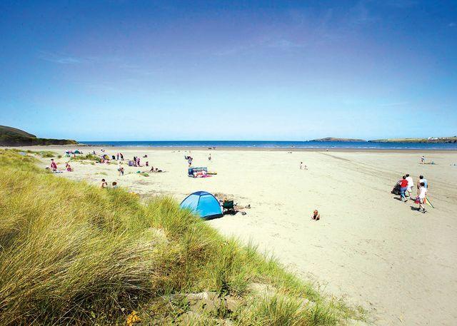 Poppit beach