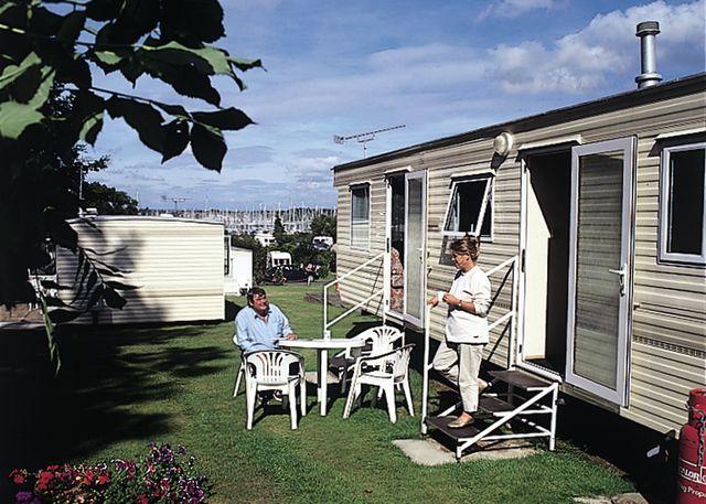 Typical Hamble Caravan