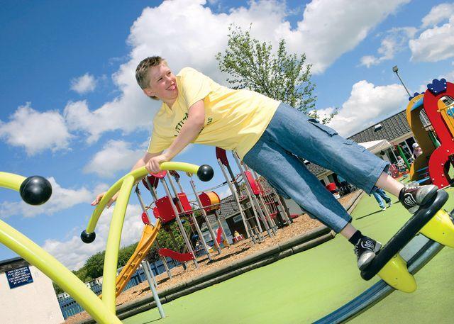 Children's adventure playground