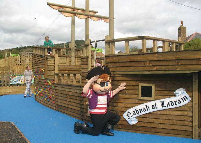 Adventure playground and Pirates Galleon