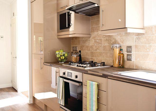 Typical kitchen