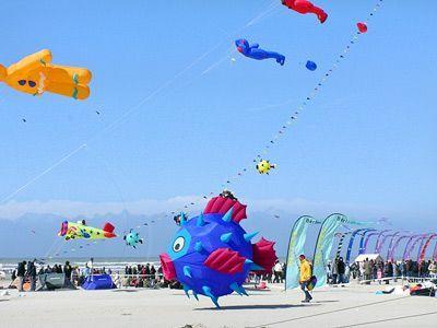 Berck Plage International kite festival