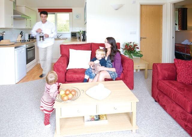Manleigh Chalet living area