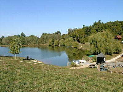 On-site lake