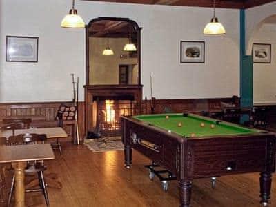 Ardbrecknish house games room