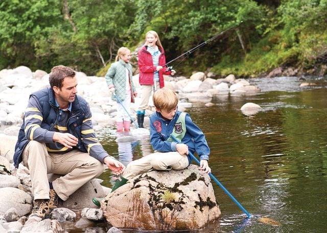 Free onsite fishing