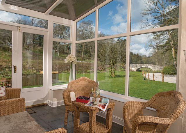 Gamekeeper's Cottage conservatory
