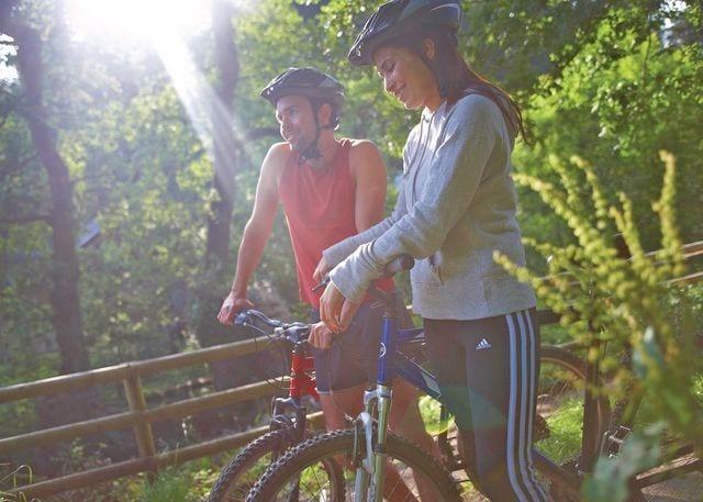 Bike hire at Deerpark