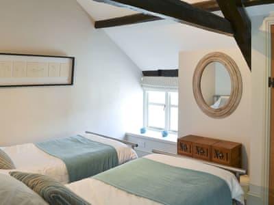 Twin bedroom | Winnowshill Farm - The Derwent, Derwent Reservoir