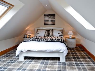 Double bedroom   Harbour View, Gardenstown, Aberdeen