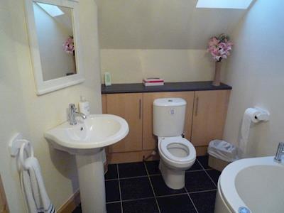Toilet   Harbour View, Gardenstown, Aberdeen