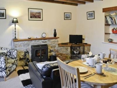 Living room | Bridge End Cottage, West Scrafton near Leyburn
