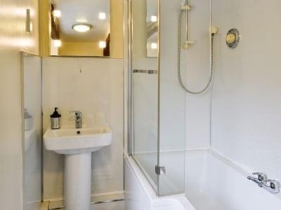 Bathroom | Bridge End Cottage, West Scrafton near Leyburn