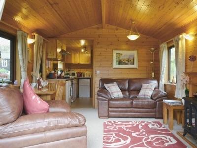 Open plan living/dining room/kitchen | Brook Lodge - Burnside Park, Keswick