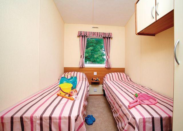 Typical Superior Caravan twin room