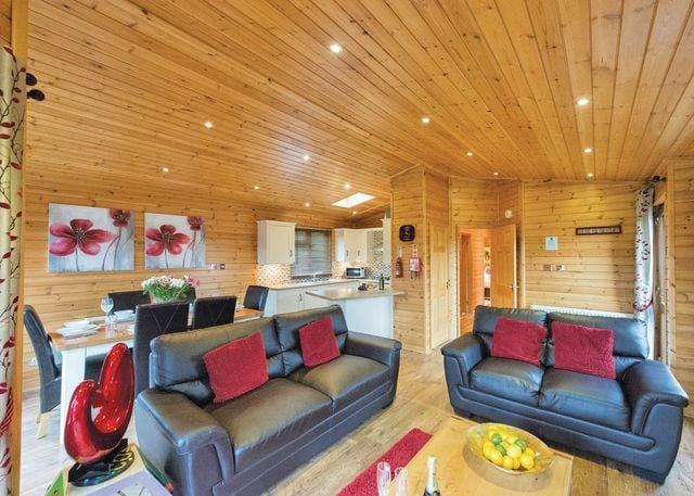 Kingfisher Supreme VIP living area