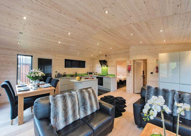 Goldcrest VIP Lodge living area