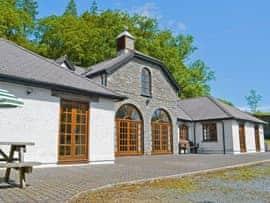 The Coach House, sleeps 20 in Tregaron and the Cambrian Mountains.