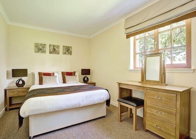 Brunston Lodge double bedroom