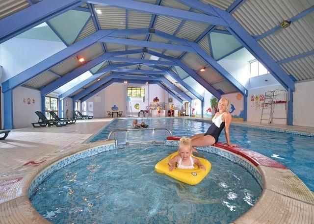 Indoor heated swimming pool