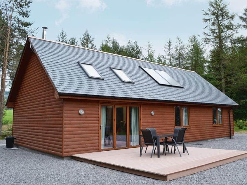 Birchland Cairn View Ref 30456 In Strachan Near Banchory Aberdeenshire Cottages Com