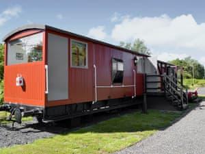 Brockford Railway Sidings - The Guards Van