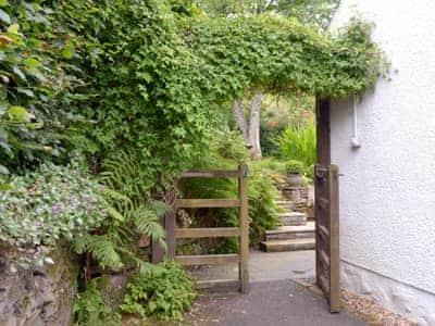 Exterior - garden and rear of property