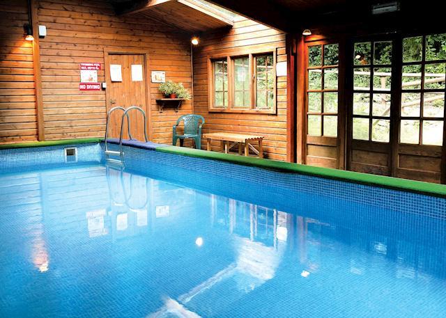 Indoor heated swimming