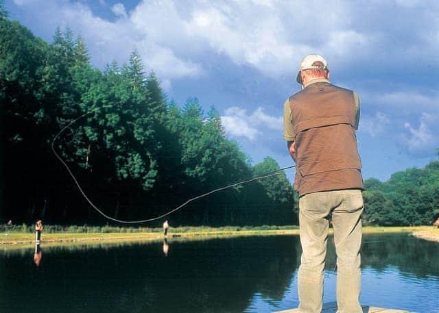 Fly fishing locally