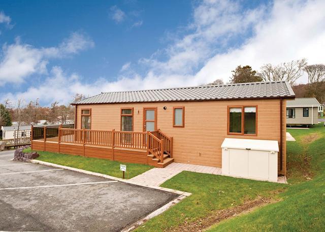 Typical Brynteg Lodge 3 Plus
