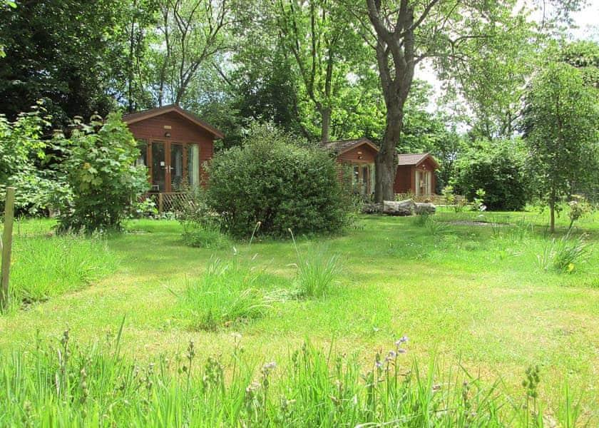 Hamblin Lodge Escape In Bosham Nr Chichester Lodges