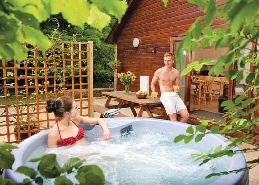 Paddock hot tub