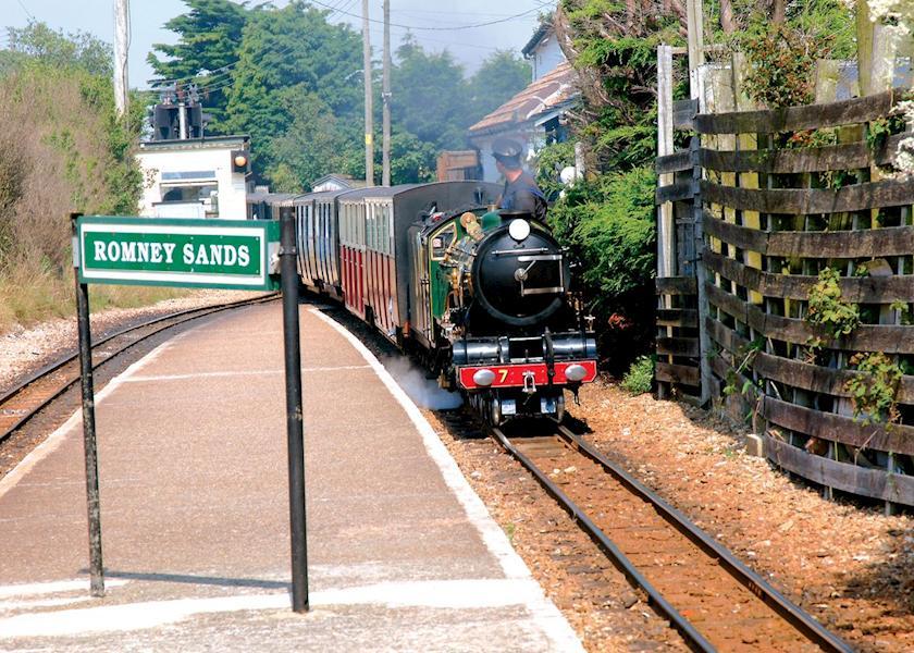 Romney-Hythe-Dymchurch Miniature steam railway