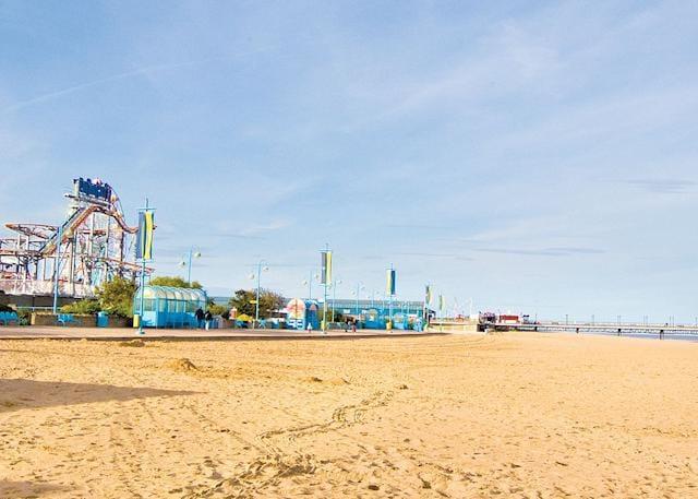 Skegness beach