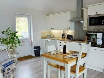 Stylishly furnished open plan living space | Beehive Cottage, Bodfari, near Denbigh