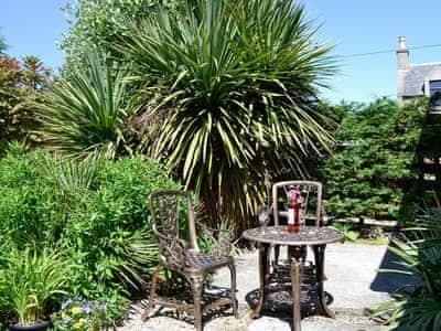 Sitting out area | Bracken View, Findochty, near Buckie