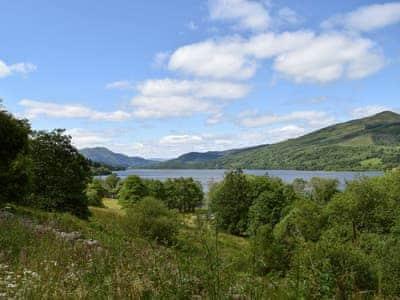 The Trossachs National Park Loch Venacher