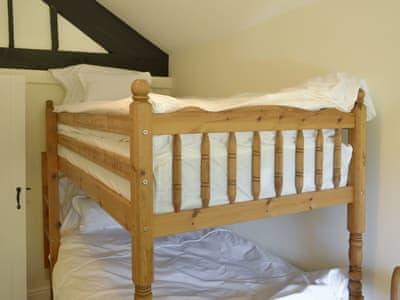 Cosy bunk bedroom | Park Cottage, Bonsall, near Matlock