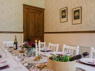 Dining room   Albion House, Castle Douglas
