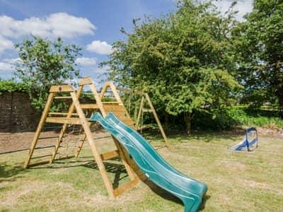 Children's play area   Albion House, Castle Douglas