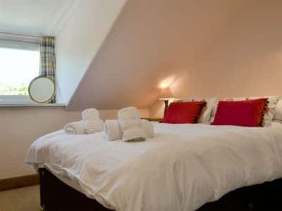 Comfortable double bedroom | Bayview, Carradale