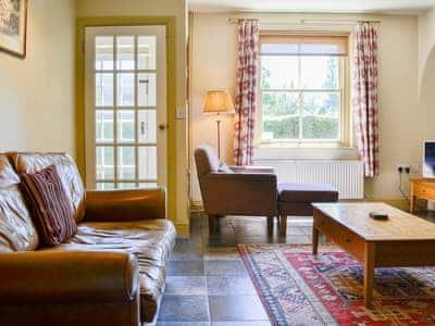 Tile-floored light and airy living room | Briardene, Bewerley near Pateley Bridge
