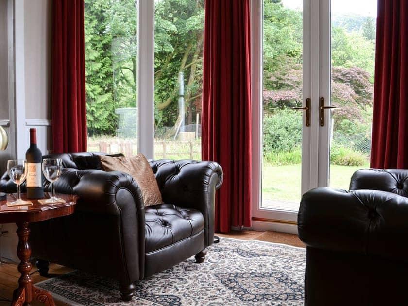Cosy seating area | Rhumhor House, Carrick Castle, near Lochgoilhead
