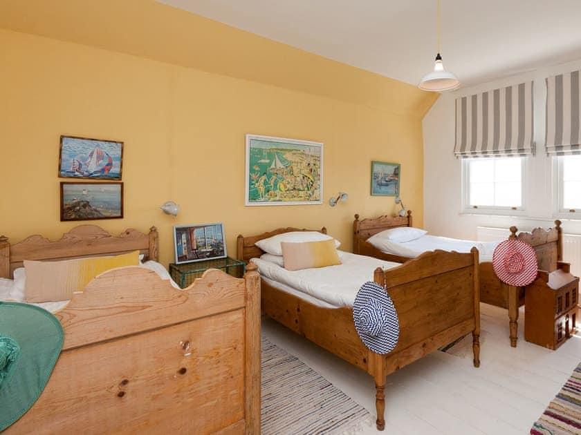 Triple bedroom with sea views | La Tourelle, Salcombe