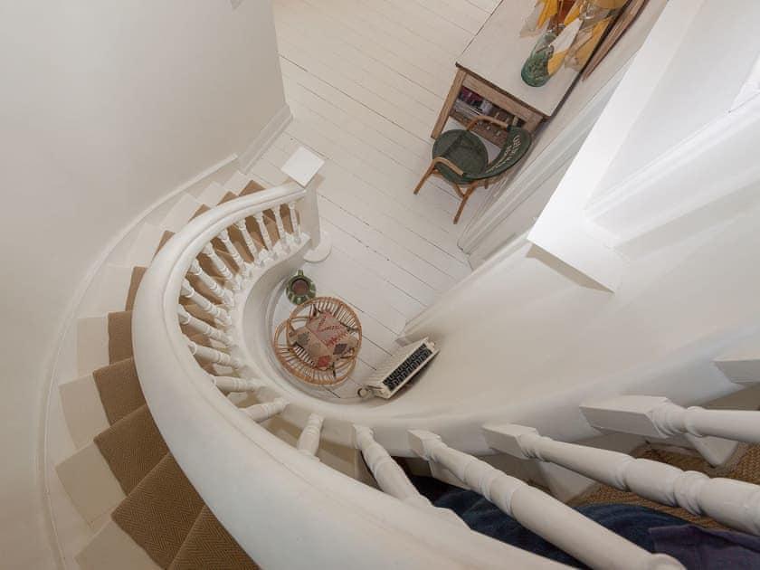 Beautiful sprialling staircase | La Tourelle, Salcombe